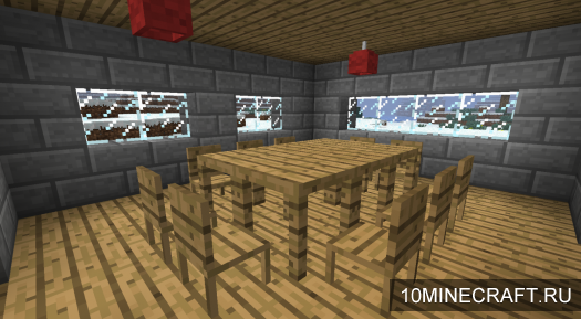 Мод Jammy Furniture Mod v4.1 [1.4.5] [SMP]