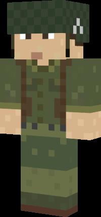 Skin в майнкрафт солдата медика