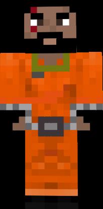 Скин Заключенного для Minecraft