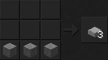 крафт вещей в майнкрафте 1.8.9 каменая плита
