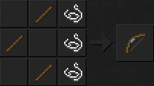 Как сделать лук в Майнкрафте