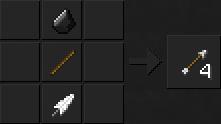 Как сделать стрелы в Майнкрафте