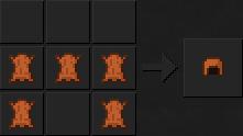 Как сделать шлем (кожаный) в Майнкрафте