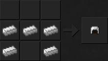 Как сделать шлем (железный) в Майнкрафте
