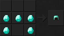 Как сделать шлем (алмазный) в Майнкрафте