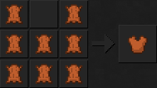 Как сделать куртку (кожаную) в Майнкрафте