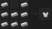 Как сделать куртку (железную) в Майнкрафте