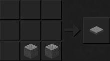 Как сделать нажимную пластину (каменную) в Майнкрафте