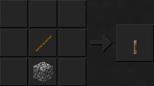 Как сделать рычаг для minecraft