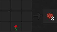 Как сделать красный краситель в Майнкрафте