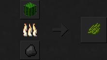 Как сделать зеленый краситель в Майнкрафте