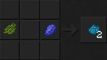 Как сделать бирюзовый краситель в Майнкрафте