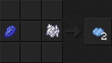 Как сделать светло-синий краситель в Майнкрафте