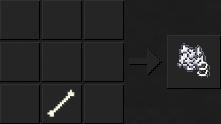 Как сделать костную муку в Майнкрафте
