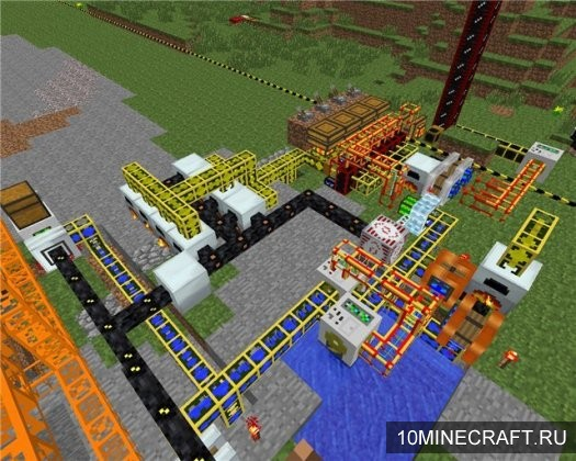 Мод Industrial Craft 2 для Minecraft 1.8.9