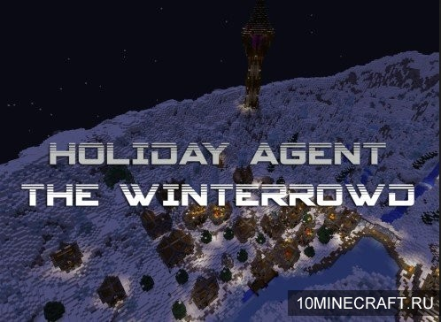 Карта Holiday Agent: The Winterrowd для Майнкрафт